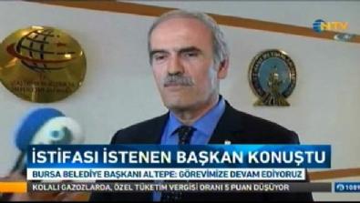 Bursa Belediye Başkanı: Görevimize devam ediyoruz