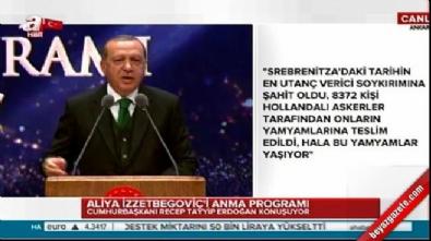 Cumhurbaşkanı Erdoğan'dan Avusturya'ya tepki