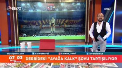 Savcılık, Galatasaray'ın ''Ayağa Kalk'' şovuna soruşturma başlattı mı?