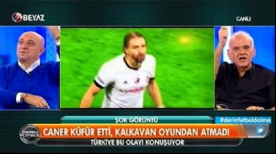 Ahmet Çakar canlı yayında Caner Erkin'i tehdit etti Video