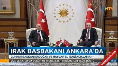 Cumhurbaşkanı Erdoğan: Irak'ın toprak bütünlüğünden yanayız