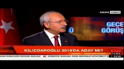 Kemal Kılıçdaroğlu o soruyu yine geçiştirdi