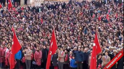 ataturk - Devletin zirvesi Anıtkabir'de