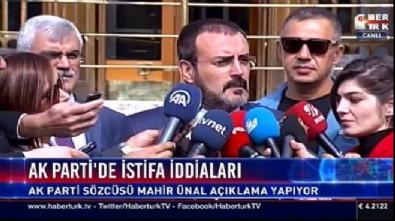 AK Parti Sözcü Mahir Ünal belediyelerde yaşanan istifalar hakkında açıklama yaptı!