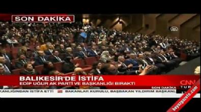 Ahmet Edip Uğur, istifa etti