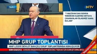 devlet bahceli - Devlet Bahçeli'den İYİ Parti'ye sert sözler