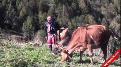 Türkiye'nin 'Heidi'sinin hayali veteriner olmak