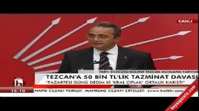 CHP'li Bülent Tezcan: Beni susturamazsınız
