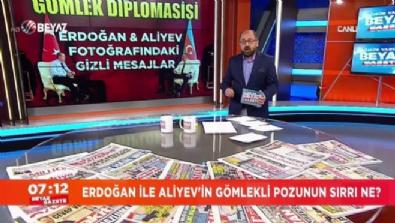 Erdoğan ile Aliyev'in gömlekli pozunun sırrı ne?