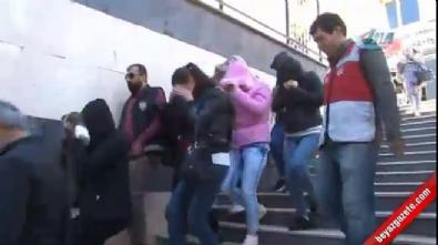İstanbul'da fuhuş operasyonu kamerada