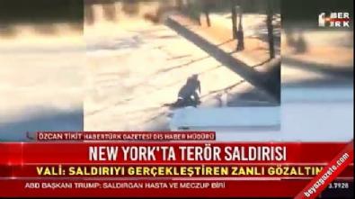 New York saldırganının yakalandığı anlar