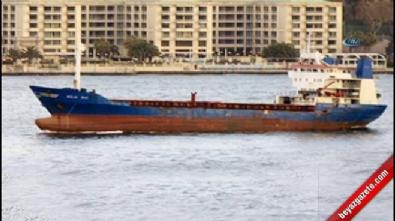 Şile açıklarında yük gemisi kayboldu