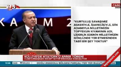 Cumhurbaşkanı Erdoğan: CHP'nin Atatürk'le ilişkisi kesilmiştir