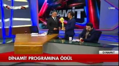Latif Şimşek'e anlamlı ödül