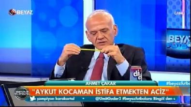 aykut kocaman - Ahmet Çakar'dan Aykut Kocaman'a sert sözler