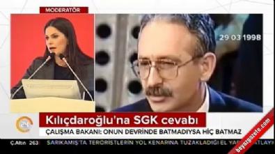 Bakan Sarıeroğlu: SGK Kılıçdaroğlu döneminde batmadıysa...