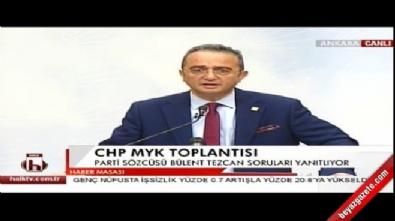 CHP'li Tezcan: Renkleri insanlara bırakalım