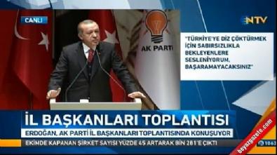 Cumhurbaşkanı Erdoğan: Afrin'i temizlemeliyiz