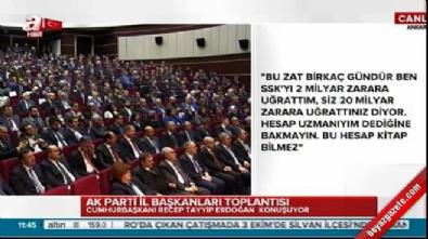 Cumhurbaşkanı Erdoğan'dan Kılıçdaroğlu'na SSK yanıtı