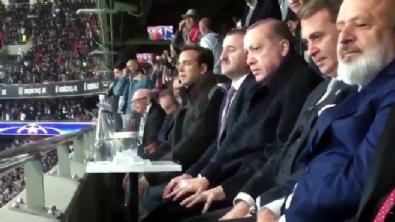 Cumhurbaşkanı Erdoğan'dan Beşiktaş'a alkış