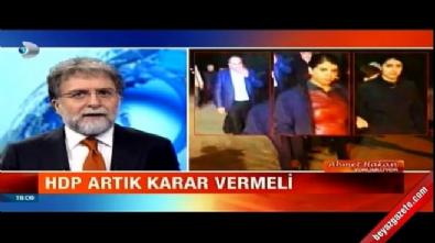 Ahmet Hakan: HDP'liler artık seçimini yapsın