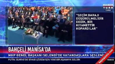 devlet bahceli - Bahçeli'den seçim barajı açıklaması