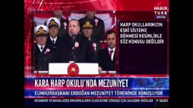 Cumhurbaşkanı Erdoğan: Ordu sadece Türk milletinin ordusudur