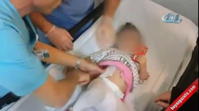 silahli saldiri - Ayrılmak isteyen eşine silahla saldırdı, 2.5 yaşındaki kızını vurdu