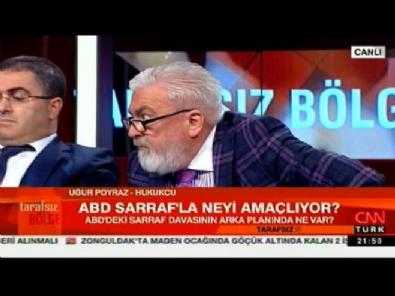 CNN Türk'te hararetli  Rıza Sarraf tartışması