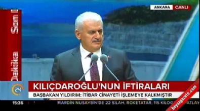 basbakan - Binali Yıldırım: Kılıçdaroğlu'ndan tıs çıkmadı