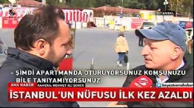 İstanbul tarihinde ilk kez göç verdi