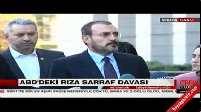 AK Parti'den Zarrab açıklaması: Kimsenin yüzünde gülücükler açmasın