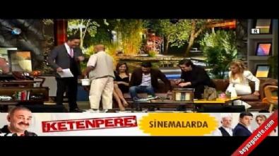 Hamal Mehmet Amca Beyaz Show'da insanlık dersi verdi
