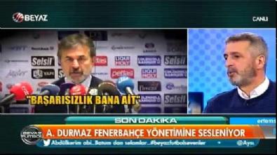 aykut kocaman - Abdülkerim Durmaz Fenerbahçeliler'in sesi oldu! İşte beğeni rekoru kıran konuşması