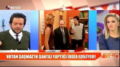 Filiz Aker - 'Vatan Şaşmaz birlikte olduğu kadınlara kasetle şantaj yaptı' iddiası