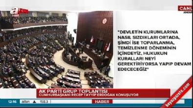 Cumhurbaşkanı Erdoğan'dan çok net terörle mücadele açıklaması