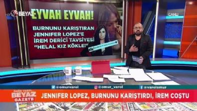 Burnunu karıştıran Jennifer Lopez'e, İrem Derici tavsiyesi