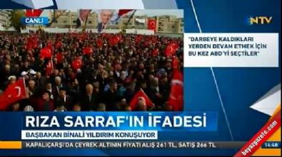 Başbakan Yıldırım'dan Rıza Sarraf açıklaması