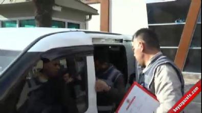 Dizi oyuncusu hırsızı, diziyi izleyen polisler yakaladı