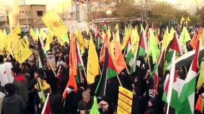 ABD'nin Kudüs'ü İsrail'in başkenti olarak tanımasına tepkiler - TAHRAN