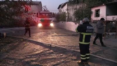 Kullanılmayan fabrikada çıkan yangın kontrol altına alındı - ADANA