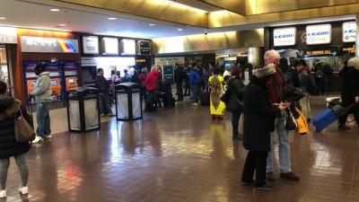 New York'ta patlama - Terminal binasının içi (3)
