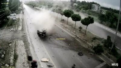 Trafik kazaları MOBESE kameralarına yansıdı - ANKARA