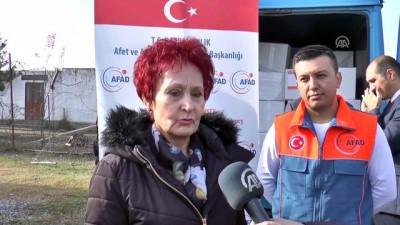 AFAD'dan Arnavutluk'taki selzedelere yardım - TİRAN