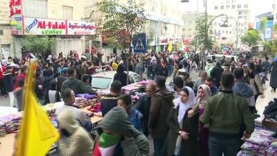 Batı Şeria'daki gösterilerde 18 Filistinli yaralandı (1) - EL HALİL