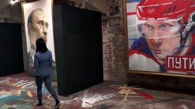 ''Süper Putin'' sergisi - MOSKOVA