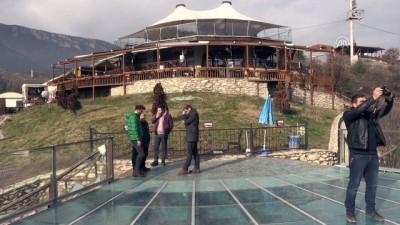 Türkiye'nin ilk cam terasına turist ilgisi - KARABÜK