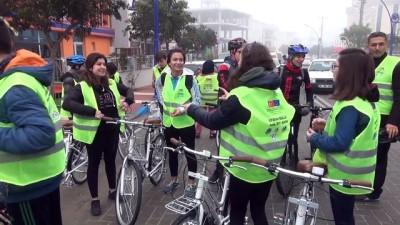'Uyumuna Pedalla' projesi - MANİSA