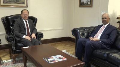 Başbakan Yardımcısı Akdağ, Büyükelçi Selverajah'ı kabul etti - ANKARA