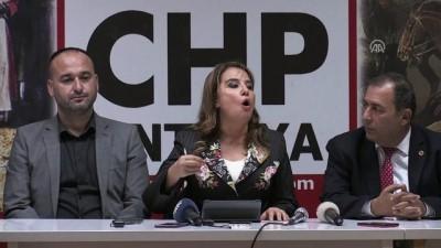 CHP Genel Başkan Yardımcısı Cankurtaran - ANTALYA